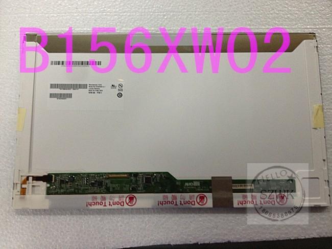 Brand 100% new 15.6 Laptop LED screen B156XW02 V.2 V.6 LP156WH4 TLA1 N1 N2 B156XW02 V2 LP156WH2 TL A1 LTN156AT02 HT156WXB<br><br>Aliexpress