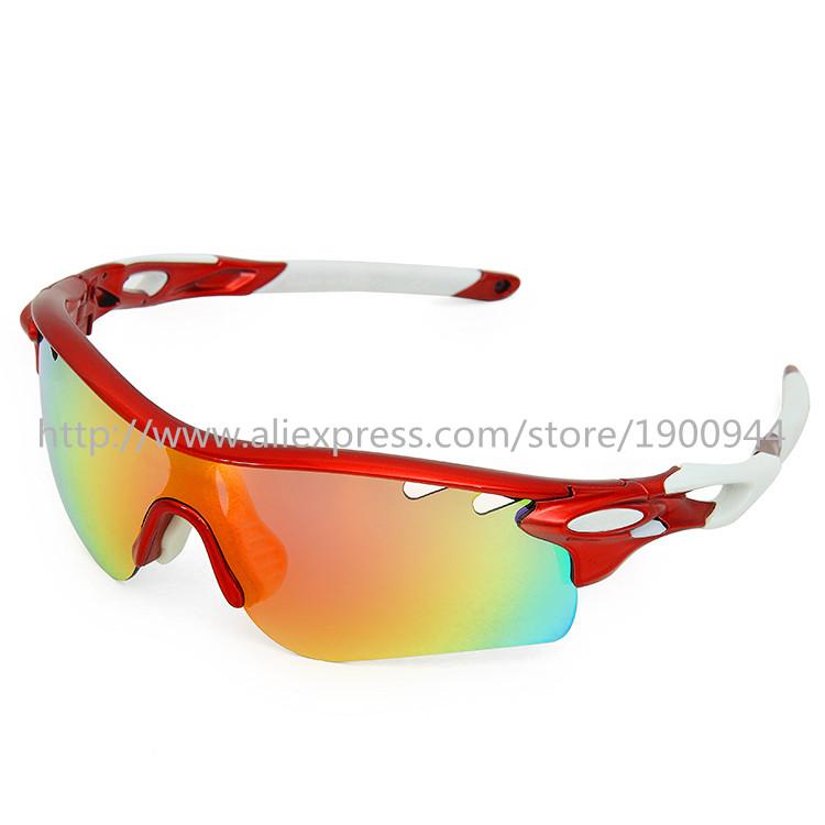 8 Color Fashion Polarized Cycling Glasses Men Women Bicycle Original Sunglasses 5 Lenses OK Brand Box Oculos Bike Gafas Ciclismo