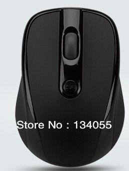 Free Shipping  2.4Ghz  Optica Wireless Mouse with nano USB receiver