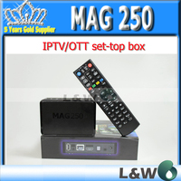 linux system MAG250  MAG 250 Stability,confirmed by IPTV-providers in 50 countries mag 250 iptv box free shipping