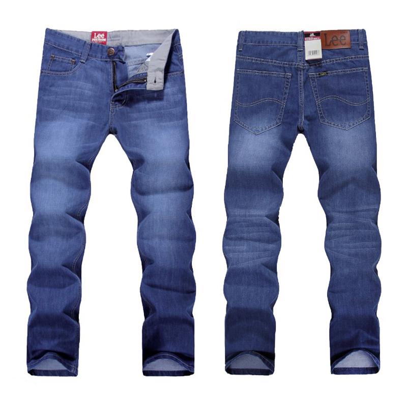 nwt fashion MENS JEANS SIZE 30 31 32 33 34 36 38 WAIST STRAIGHT LIGHT BLUE cotton