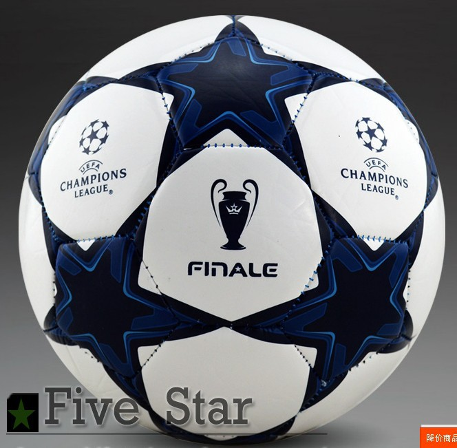 Hot sale Free shipping world cup Soccer ball football High Quality PU size 5 ball for match 2 colors(China (Mainland))