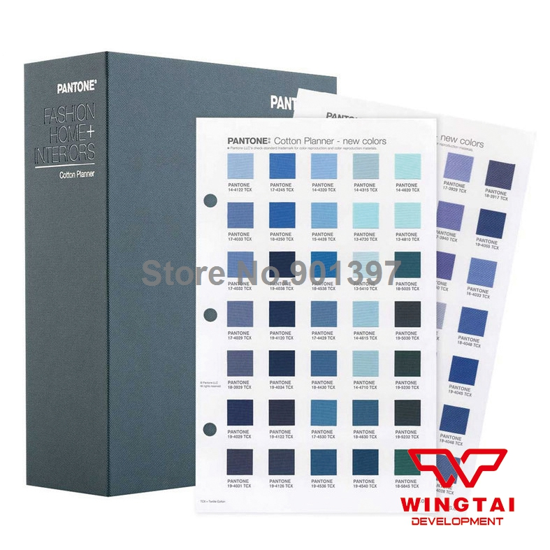 2016 Newest PANTONE Cotton Planner Cotton Chips 2310 Kinds of Pantone Color Guide TCX FHIC300(China (Mainland))