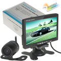7 inch TFT LCD Color Car Rearview Monitor Headrest Parking 7 Monitor 2 Video Input for