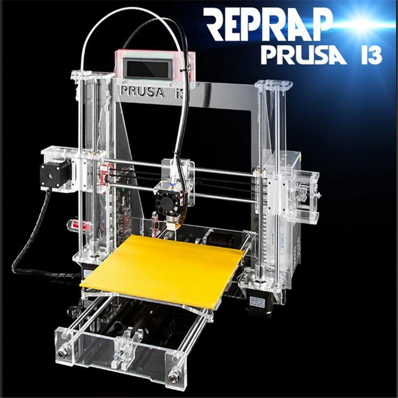 2016 2KG PLA/ABS filament +8GSD card free Many kinds of language DIY sunhokey Prusa i3 3D Printer Kit(China (Mainland))
