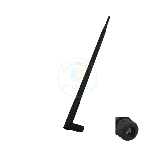 10pcs New 9dBi 2.4 GHz 802.11b/g Omni Wireless WiFi Antenna SMA(China (Mainland))