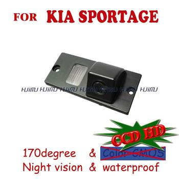 wire wireless HD led color night vision for sony CCD KIA SPORTAGE Car Rear View camera parking reversing assistance