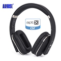 August EP650 Bluetooth Wireless Headphones Over Ear Stereo Headphone with Microphone NFC 3 5mm Audio In