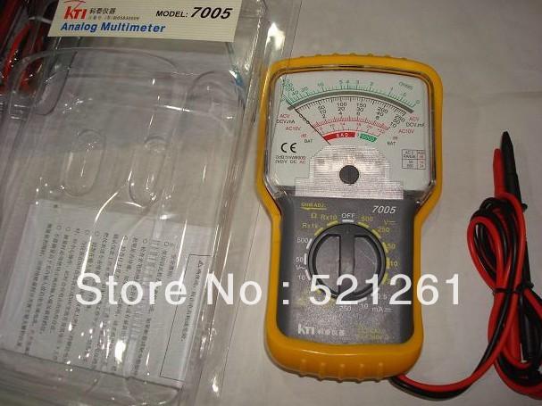 High Sensitivity Analogue multimeter 7005 ampere volt ohm meter current voltage resistance tester(China (Mainland))