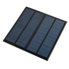 New Solar Panel Module for Light Battery Cell Phone Charger Portable 12V 3W DIY