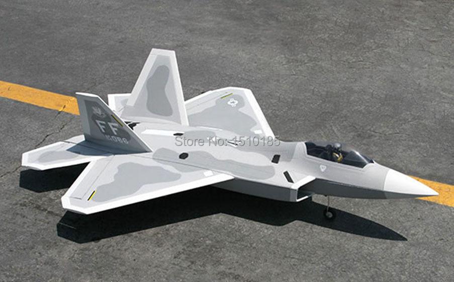 Lanxiang High Scale F22 Raptor PNP/ARF RC Airplane Model 50A ESC 70mm EDF(China (Mainland))