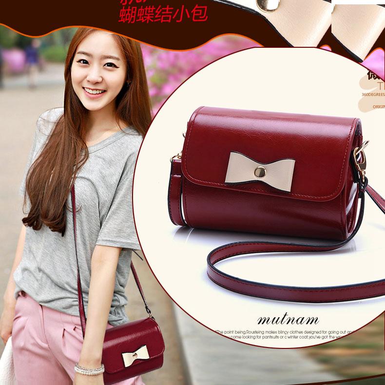 2015 spring small fresh women's handbag mini bags young girl bow messenger bag - Carrie Louis's store