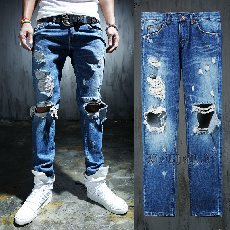 Mens Designer Jeans With Holes   www.imgkid.com - The Image Kid Has It!