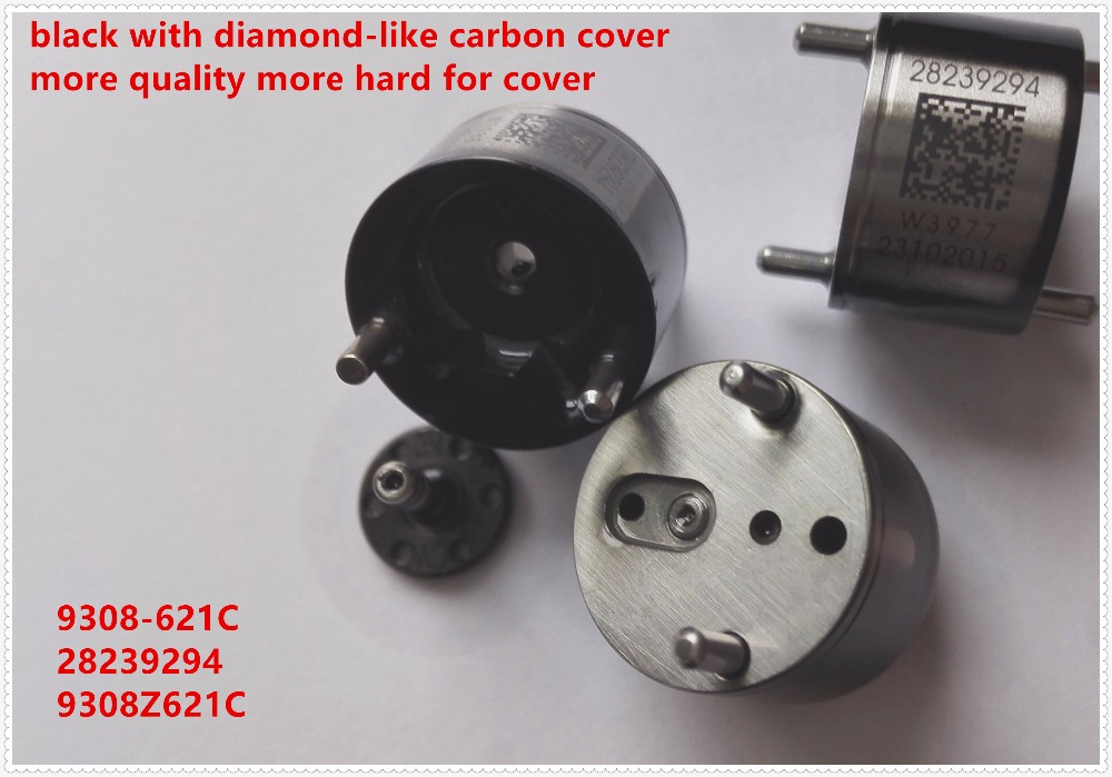 Genuine type black for Delphi fuel injector control valve 28239294 9308-621C 9308z621c common rail control valve(China (Mainland))