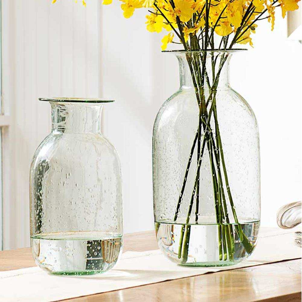 Top grade european style home wedding decorative glass - Decorative flower vase ...
