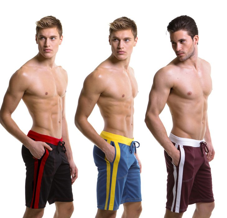 MEN SEXY fifth Sports pants house dress for men Gyn pants Fast gry pants 5 COLORS size S M L XL +FREE SHIPPING(China (Mainland))
