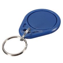 Free Shipping 10pcs lot 13 56MHz RFID IC Key Tags Keyfobs Token NFC TAG Keychain For