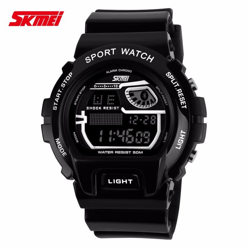 New Skmei Luxury Brand Men Sports Watch Digital LED Military Watch 50M Waterproof Outdoor Casual Wristwatches Relogio Masculino