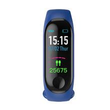 2019 M3 montre intelligente hommes femmes moniteur de fréquence cardiaque tension artérielle Fitness Tracker Smartwatch Sport bracelet intelligent pour IOS Android(China)