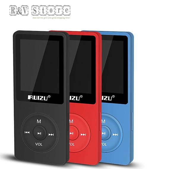2015 New music play Ultrathin 4gb MP3 Player With 1.8 Inch Screen Can Play 80 hours,Original RUIZU X02 With FM,E-Book,Clock,Data(China (Mainland))