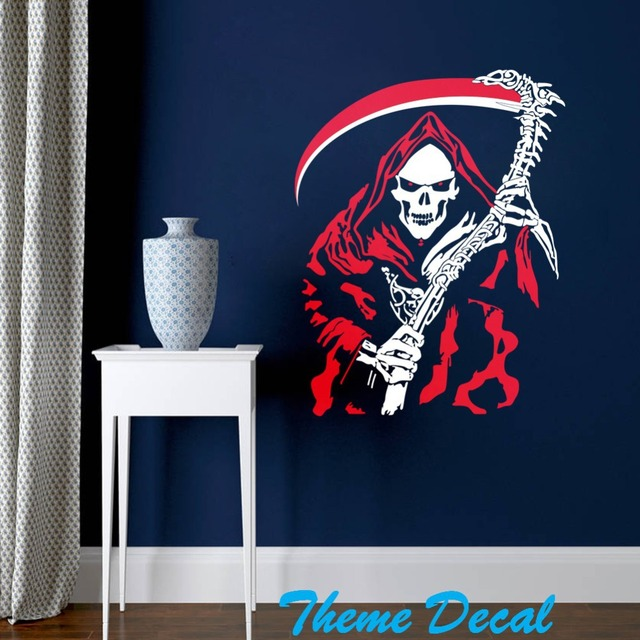red witch wall sticker halloween store office decorations diy background bedroom living room wall decal aliexpresscom buy office decoration diy wall
