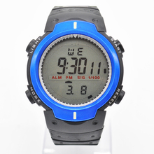1Pcs Waterproof Round Dial Sport Digital Watches For Student Cold Light Quartz Boys/Girls Children Wristwatch HM631W*60