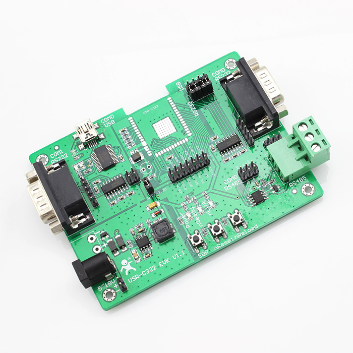 [USR-C322-EVK] WIFI Module USR-C322 Evaluation Board /RS232 to WIFI module(China (Mainland))