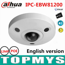 Buy Dahua IP camera IPC-EBW81200 12MP Ultra POE Security CCTV camera 1080P IR night vision waterproof fisheye IP Camera H.264 Onvif for $479.90 in AliExpress store
