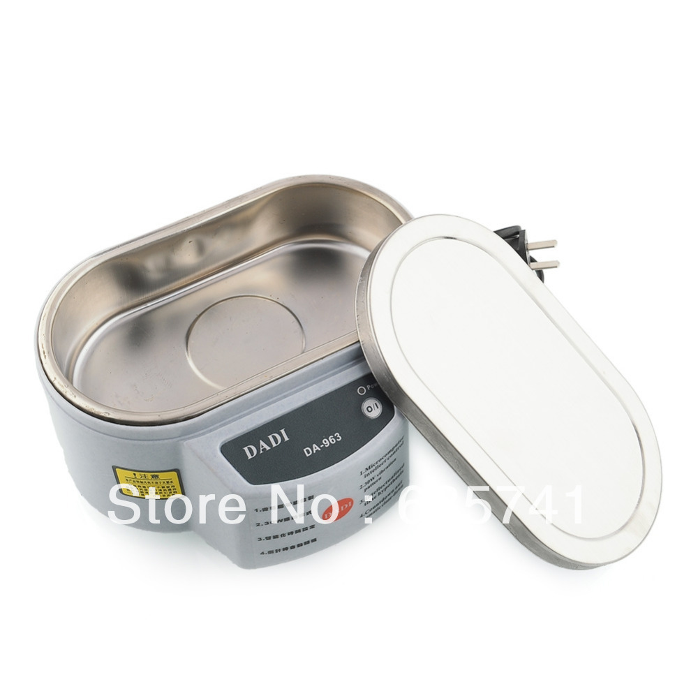30W 220V Jewelry Watch Lens Glasses Mini Professional Ultrasonic Cleaner New Hot Free Shipping(China (Mainland))