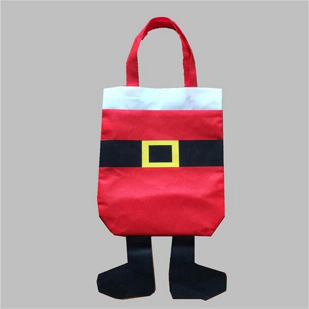 1 pcs custom christmas stocking gift bags santa claus xmas gifts christmas ornament for home - Custom Christmas Stockings