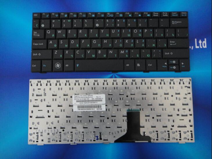 RU Russian keyboard for ASUS Eee PC 1001HA 1001PX 1001PXD 1005HA 1005PX 1008HA black free shipping(China (Mainland))