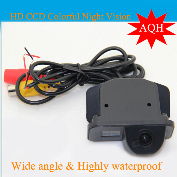 Free Shipping ,For Toyota Corolla Waterproof Car Rearview CCD parking Camera Wide Angle Lens Suitable for 2011/2012/2013(China (Mainland))