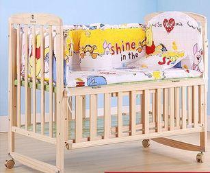2015 новый 5 Шт./компл. детское постельное белье набор хлопок занавес кроватки бампер ...