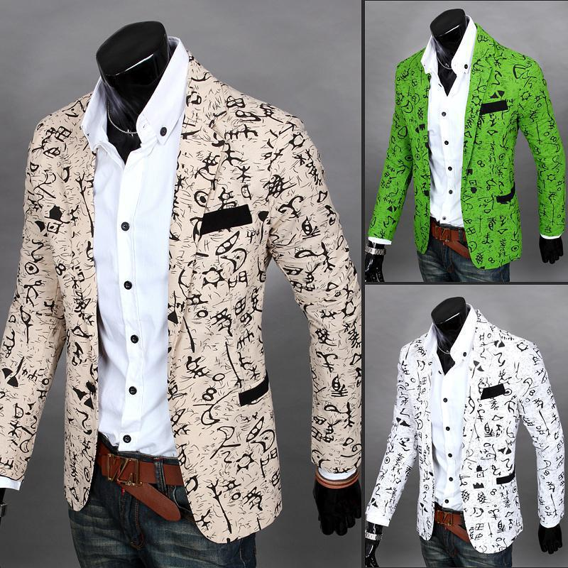 Images of Unique Mens Blazers - Reikian