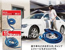 Hose Retractable Hose 50ft Hose Garden Hose TV Good Aluminum Head(China (Mainland))