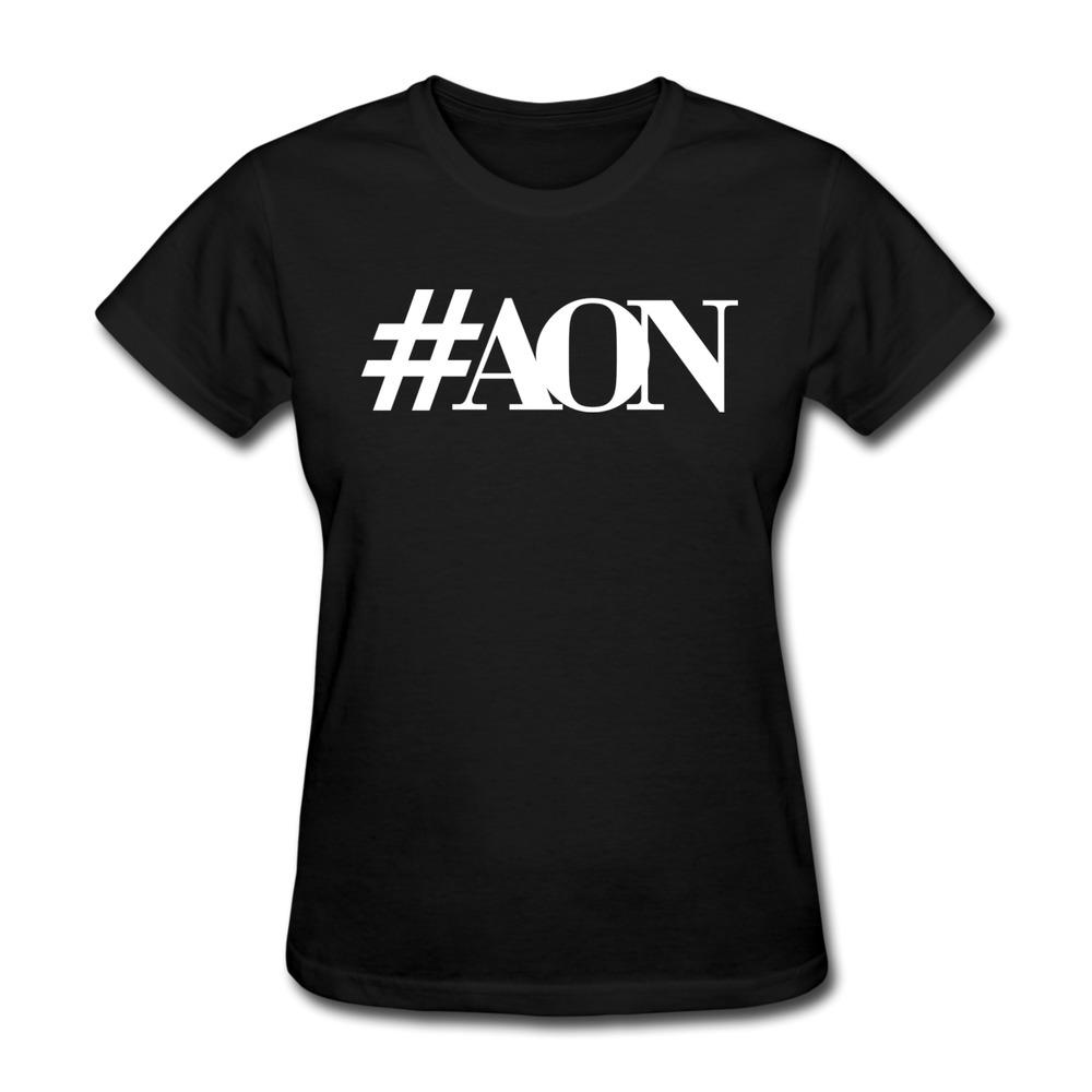 2015 #TeamAON Top Class Women 3D High Quality Cotton t-shirt Customized Girl's tshirt Free Shipping(China (Mainland))