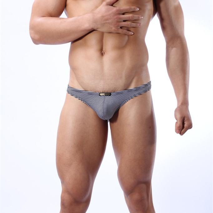 BRAVE PERSON Brand Underwear Mens Sexy Lycra Cotton G-string Men Thongs Tanga Panties Gay Underwear Stripe T PantsОдежда и ак�е��уары<br><br><br>Aliexpress