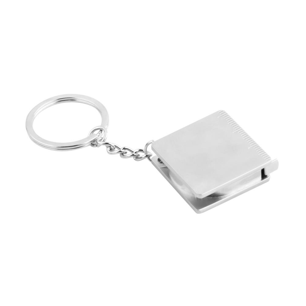 1pc Hot Sale Creative Practical Tape Measure Keychain Key Chain Ring Keyring Key Fob Holder Drop Shipping(China (Mainland))