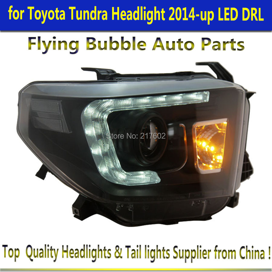 for Toyota Tundra 2014-2016 Projector Headlights Xenon/HID Model Only ( Not Compatible With Halogen Model )(China (Mainland))