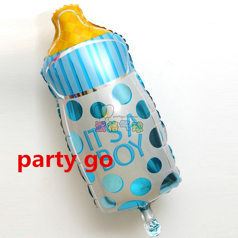 150pcs boy rattle baby shower it 39 s a boy party decorations for Baby boy shower decoration kits