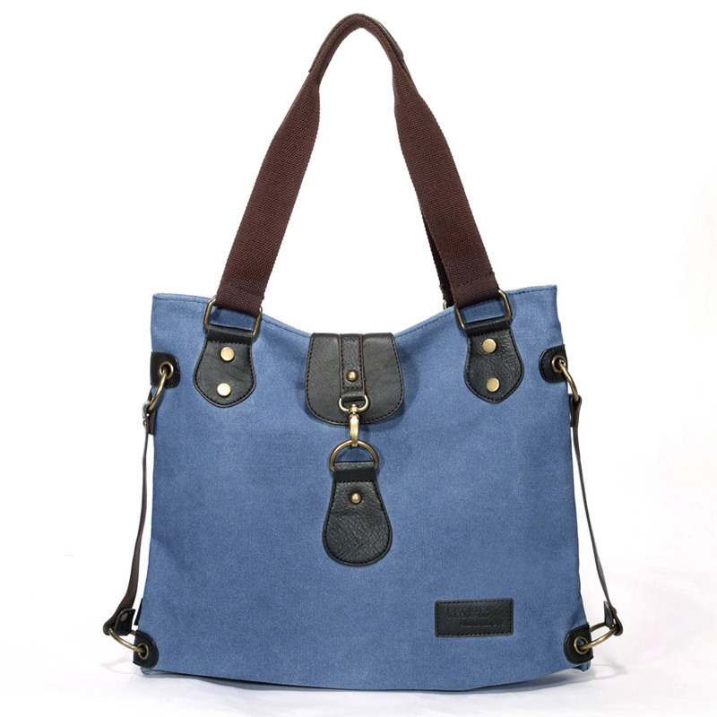 Handbags new cotton canvas tote bags vintage messenger bags women shoulder bags Free shipping(China (Mainland))