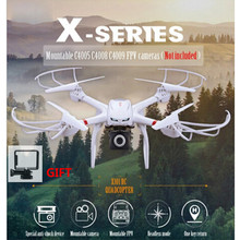 Profession RC Drones mjx x101 Quadcopter 2.4g 6-Axis Rc Helicopter Drone can Add C4005 C4008 FPV Wifi HD Camera VS syma x5cw