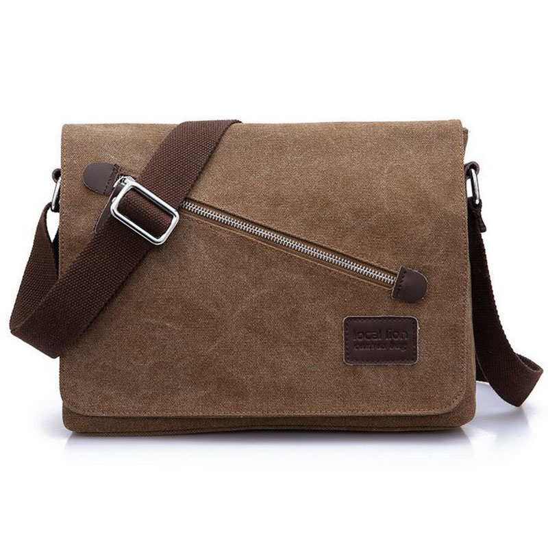 Hotsale Men's Shoulder Messenger Bags High Quality Watered Canvas Bag Brand Casual Men Travel Crossbody Bags Handbag GHa73(China (Mainland))