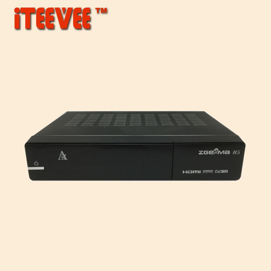[iTEEVEE] Zgemma H5 Enigma 2 Linux Dual Core DVB-S/S2 + HYBRID DVB-C/T/T2 Tuner Satellite Receiver H.265 HEVC Set top Box DVB S2(China (Mainland))