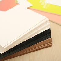 20 Pieces / Piece Diy Retro Kraft Paper Postcard Student Message Card And School Memorandum Stationery