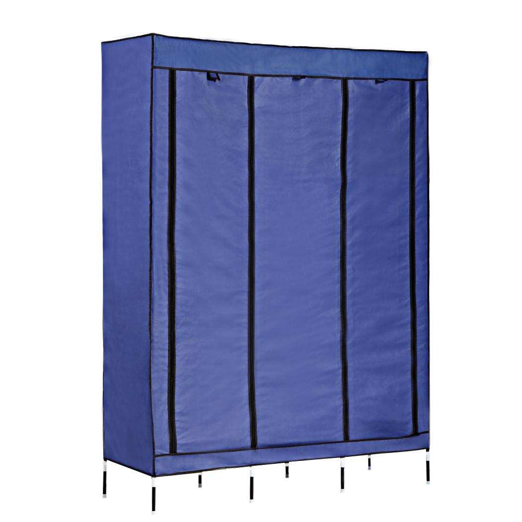 Home Modern Funiture DIY Portable Closet Storage Organizer Clothes Wardrobe Shoes Rack With Shelves us6
