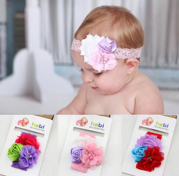 HB059 Hot Selling Fashion Infant Hair Accessories Newborn Bayby Girl Headbands Pretty Kids Hairband 20pcs/lot(China (Mainland))