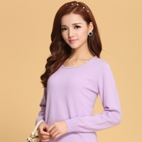 Women Sweater 100% pure Cashmere Knitted Sweater Winter o-neck Warm Sweaters for Ladies Pullvoer Hot Sale Goat Cashmere clothes(China (Mainland))