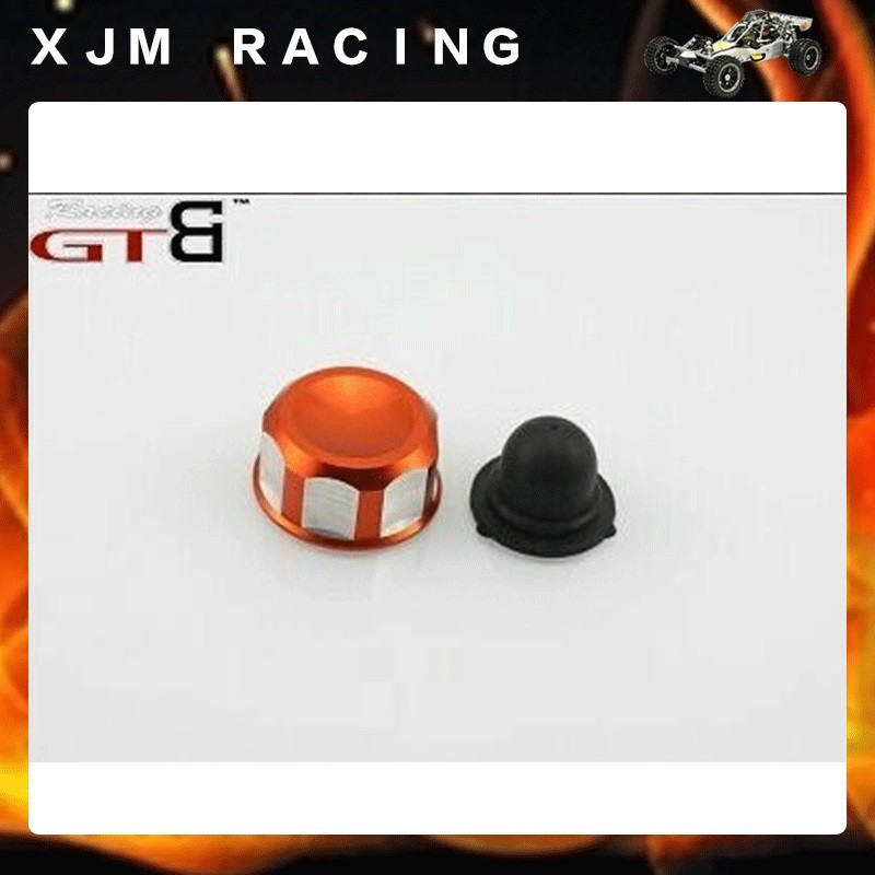 1/5 rc car racing parts Alloy Fuel Tank Cap for 1/5 Scale GTB Baja 5b/5t/5sc,silver/orange choose