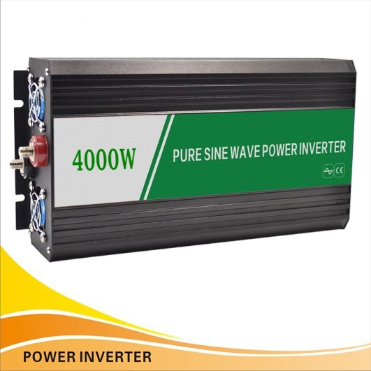 NEW Retail DC 24v to AC 220v 230V 4000w 8000w Peaking Pure Sine Wave Power solar Inverter converters for home outdoor(China (Mainland))